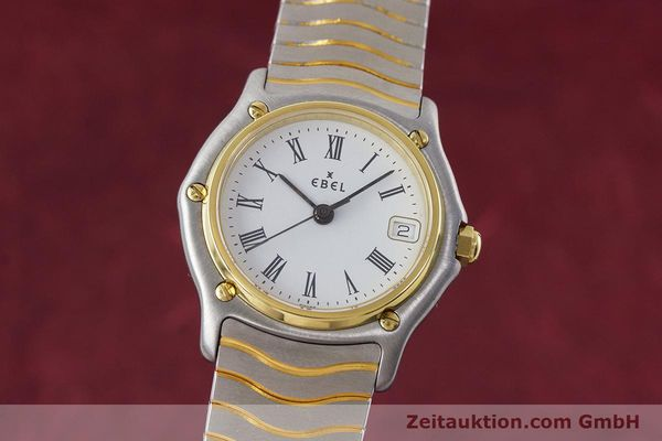 EBEL CLASSIC WAVE STEEL / GOLD QUARTZ KAL. 87 [161206]