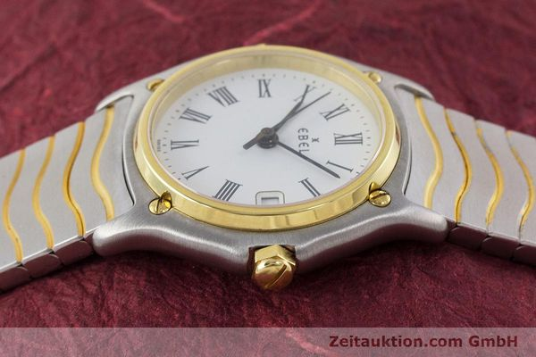 Used luxury watch Ebel Classic Wave steel / gold quartz Kal. 87 Ref. 1087121  | 161206 05