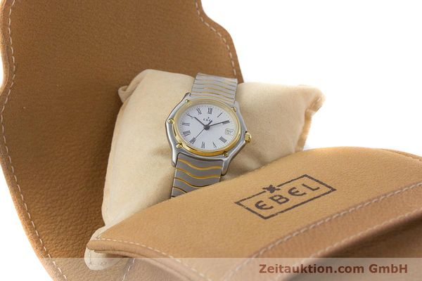 Used luxury watch Ebel Classic Wave steel / gold quartz Kal. 87 Ref. 1087121  | 161206 07