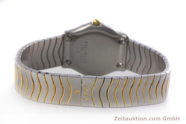 Used luxury watch Ebel Classic Wave steel / gold quartz Kal. 87 Ref. 1087121  | 161206 10