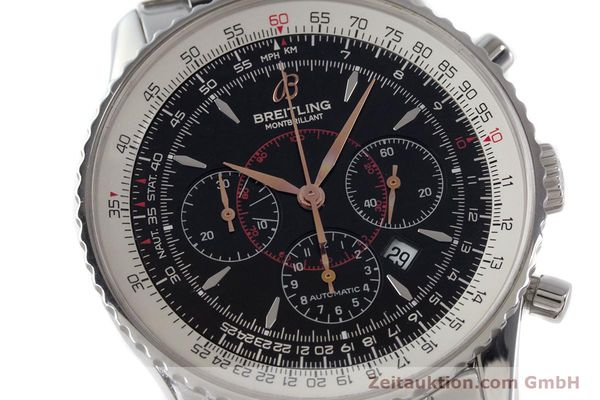 Used luxury watch Breitling Montbrillant chronograph steel automatic Kal. B41 ETA 2892A2 Ref. A41370  | 161207 02