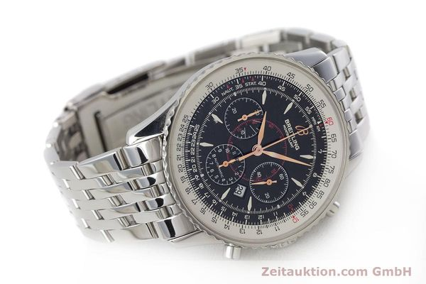 Used luxury watch Breitling Montbrillant chronograph steel automatic Kal. B41 ETA 2892A2 Ref. A41370  | 161207 03