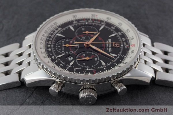 Used luxury watch Breitling Montbrillant chronograph steel automatic Kal. B41 ETA 2892A2 Ref. A41370  | 161207 05