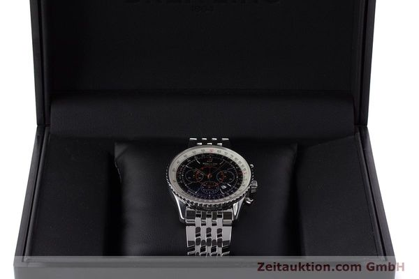 Used luxury watch Breitling Montbrillant chronograph steel automatic Kal. B41 ETA 2892A2 Ref. A41370  | 161207 07