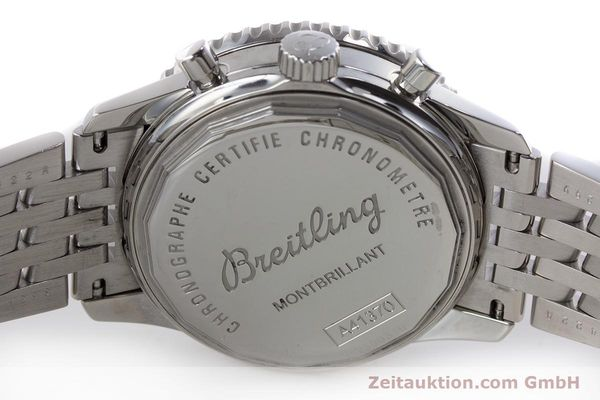 Used luxury watch Breitling Montbrillant chronograph steel automatic Kal. B41 ETA 2892A2 Ref. A41370  | 161207 09