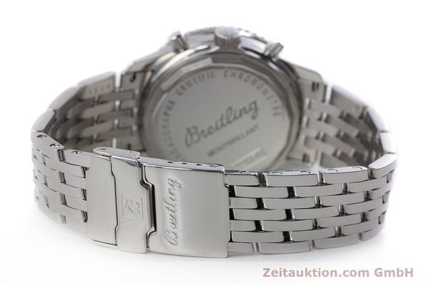 Used luxury watch Breitling Montbrillant chronograph steel automatic Kal. B41 ETA 2892A2 Ref. A41370  | 161207 11