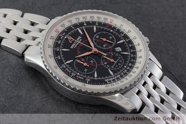 Used luxury watch Breitling Montbrillant chronograph steel automatic Kal. B41 ETA 2892A2 Ref. A41370  | 161207 13