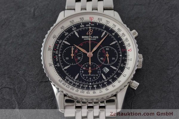 Used luxury watch Breitling Montbrillant chronograph steel automatic Kal. B41 ETA 2892A2 Ref. A41370  | 161207 14