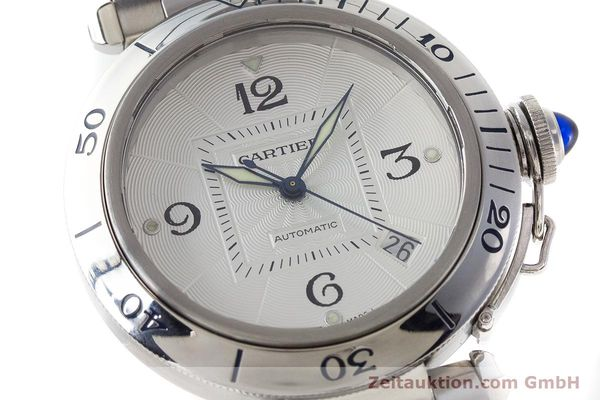 Used luxury watch Cartier Pasha steel automatic Kal. 191 Ref. 2379  | 161208 02