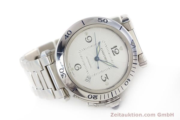 Used luxury watch Cartier Pasha steel automatic Kal. 191 Ref. 2379  | 161208 03
