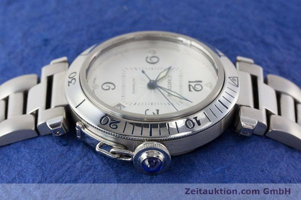 Used luxury watch Cartier Pasha steel automatic Kal. 191 Ref. 2379  | 161208 05