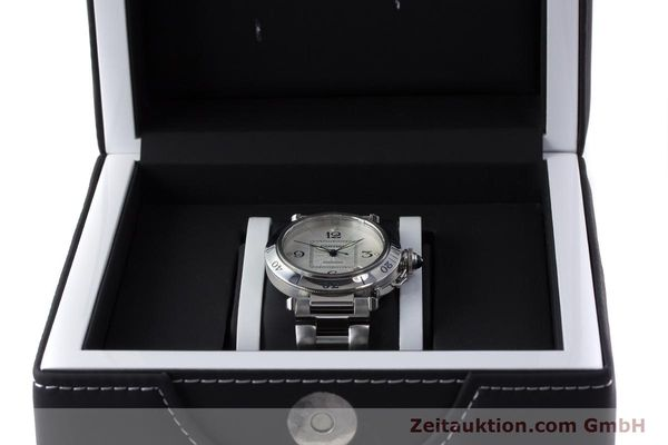 Used luxury watch Cartier Pasha steel automatic Kal. 191 Ref. 2379  | 161208 07