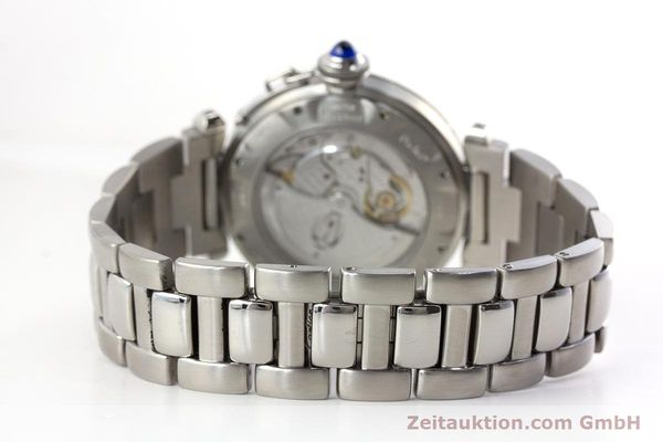 Used luxury watch Cartier Pasha steel automatic Kal. 191 Ref. 2379  | 161208 11