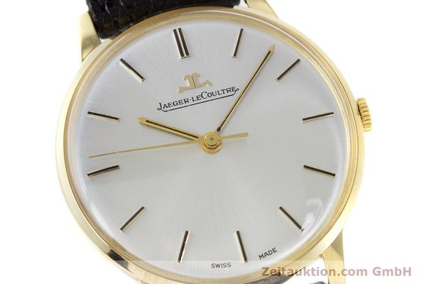 Used luxury watch Jaeger Le Coultre * 18 ct gold manual winding Kal. 885 Ref. 20002/21002  | 161209 02