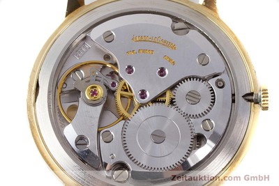 JAEGER LE COULTRE 18 CT GOLD MANUAL WINDING KAL. 885 [161209]