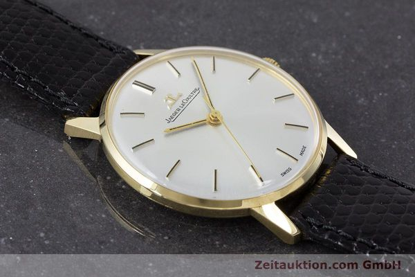Used luxury watch Jaeger Le Coultre * 18 ct gold manual winding Kal. 885 Ref. 20002/21002  | 161209 13
