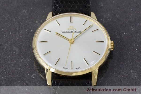 Used luxury watch Jaeger Le Coultre * 18 ct gold manual winding Kal. 885 Ref. 20002/21002  | 161209 14