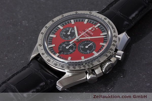 Used luxury watch Omega Speedmaster chronograph steel automatic Kal. 3301A Ref. 35066100 LIMITED EDITION | 161212 01