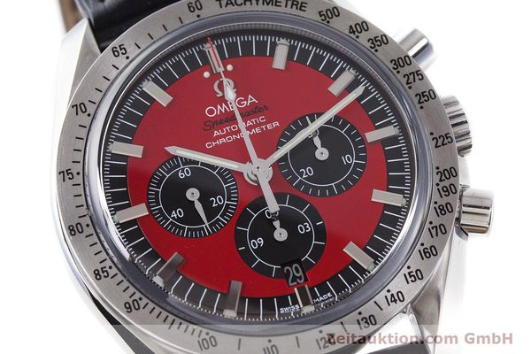 Used luxury watch Omega Speedmaster chronograph steel automatic Kal. 3301A Ref. 35066100 LIMITED EDITION | 161212 02