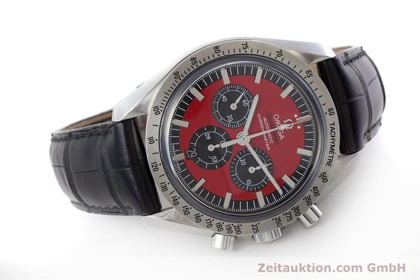 Used luxury watch Omega Speedmaster chronograph steel automatic Kal. 3301A Ref. 35066100 LIMITED EDITION | 161212 03