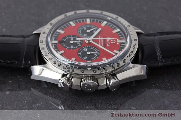 Used luxury watch Omega Speedmaster chronograph steel automatic Kal. 3301A Ref. 35066100 LIMITED EDITION | 161212 05