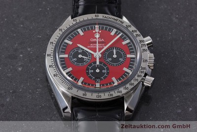 OMEGA SPEEDMASTER MICHAEL SCHUMACHER THE LEGEND CHRONOGRAPH AUTOMATIK VP: 5420,- [161212]