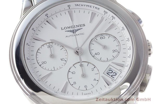 Used luxury watch Longines Flagship chronograph steel automatic Kal. L650.2 Ref. L4.718.4  | 161215 02
