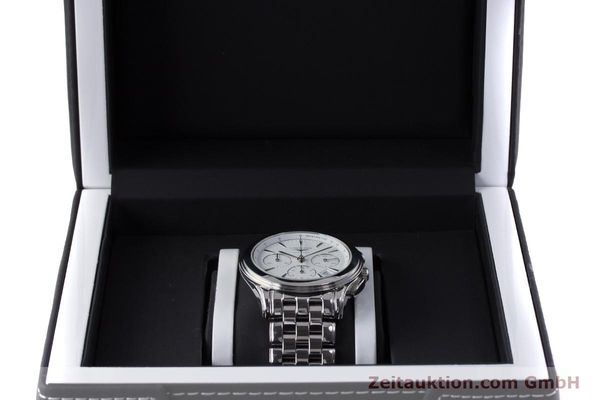 Used luxury watch Longines Flagship chronograph steel automatic Kal. L650.2 Ref. L4.718.4  | 161215 07