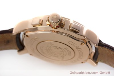 JAEGER LE COULTRE MASTER COMPRESSOR CHRONOGRAPH 18 CT RED GOLD QUARTZ KAL. 631 630/1 LP: 11900EUR [161217]