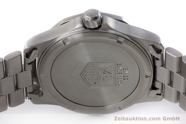 Used luxury watch Tag Heuer Professional chronograph steel quartz Kal. ETA 988432 Ref. WK111A-0  | 161218 09
