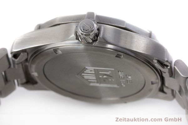 Used luxury watch Tag Heuer Professional chronograph steel quartz Kal. ETA 988432 Ref. WK111A-0  | 161218 10