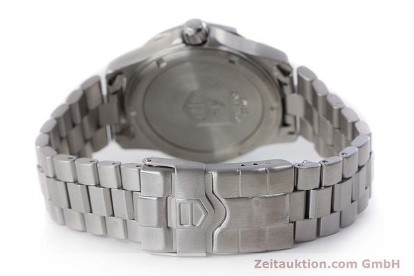Used luxury watch Tag Heuer Professional chronograph steel quartz Kal. ETA 988432 Ref. WK111A-0  | 161218 11