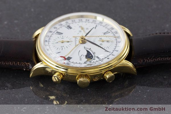 Used luxury watch Sinn * chronograph gold-plated automatic Kal. Val 7750 Ref. 77990  | 161224 05