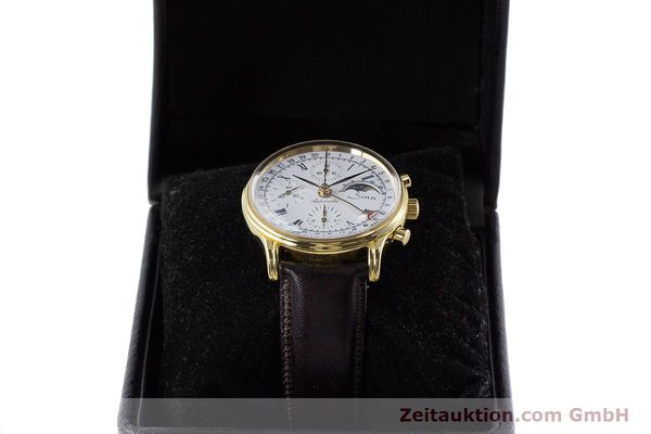 Used luxury watch Sinn * chronograph gold-plated automatic Kal. Val 7750 Ref. 77990  | 161224 07
