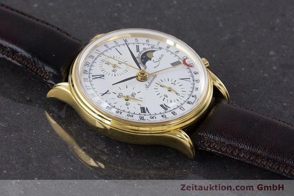 Used luxury watch Sinn * chronograph gold-plated automatic Kal. Val 7750 Ref. 77990  | 161224 12