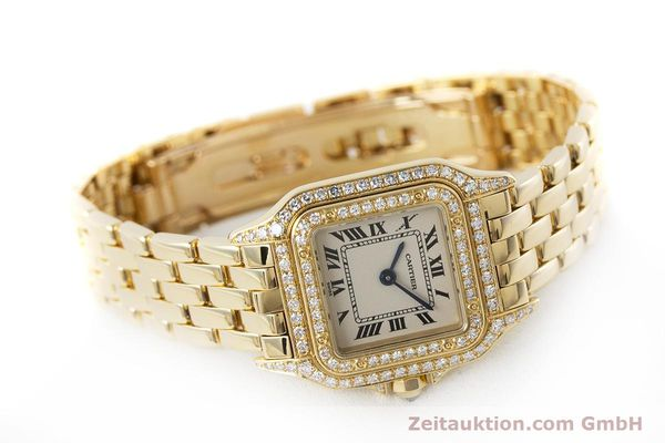 Used luxury watch Cartier Panthere 18 ct gold quartz Kal. 057 Ref. 1280  | 161228 03