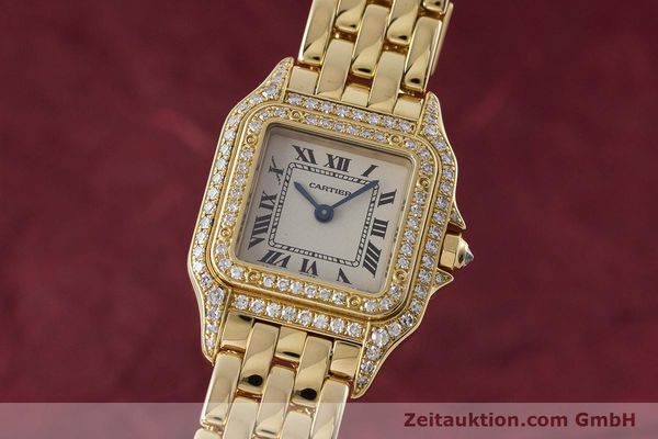 CARTIER PANTHERE ORO 18 CT QUARZO KAL. 057 [161228]