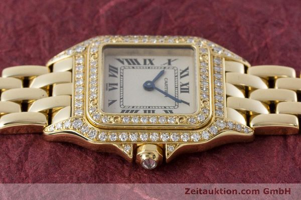 Used luxury watch Cartier Panthere 18 ct gold quartz Kal. 057 Ref. 1280  | 161228 05