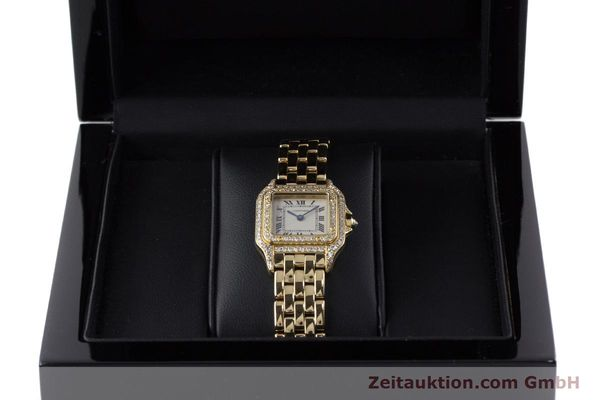 Used luxury watch Cartier Panthere 18 ct gold quartz Kal. 057 Ref. 1280  | 161228 07