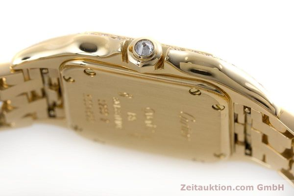Used luxury watch Cartier Panthere 18 ct gold quartz Kal. 057 Ref. 1280  | 161228 08