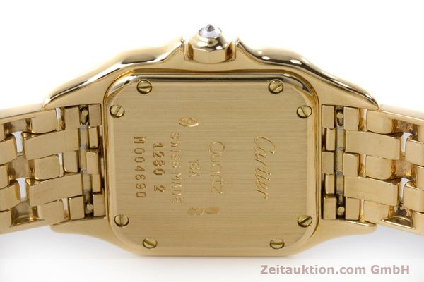 Used luxury watch Cartier Panthere 18 ct gold quartz Kal. 057 Ref. 1280  | 161228 09
