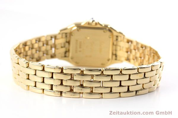 Used luxury watch Cartier Panthere 18 ct gold quartz Kal. 057 Ref. 1280  | 161228 11