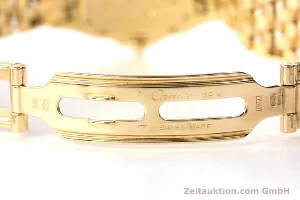 Used luxury watch Cartier Panthere 18 ct gold quartz Kal. 057 Ref. 1280  | 161228 12