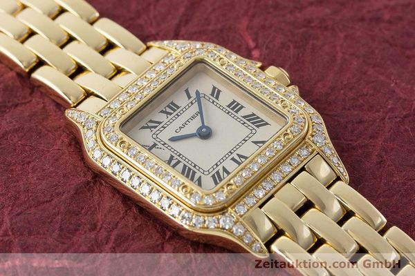 Used luxury watch Cartier Panthere 18 ct gold quartz Kal. 057 Ref. 1280  | 161228 14