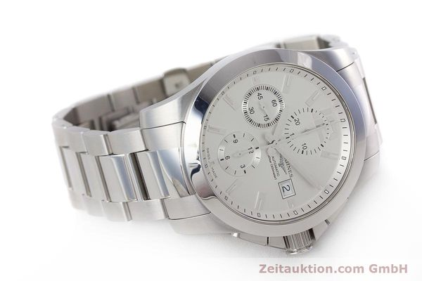 Used luxury watch Longines Conquest chronograph steel automatic Kal. L667.2 ETA 7750 Ref. L3.678.4  | 161230 03