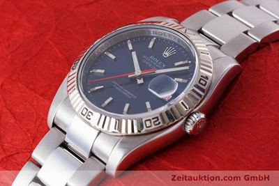 ROLEX DATEJUST STEEL / WHITE GOLD AUTOMATIC KAL. 3135 LP: 7300EUR [161232]