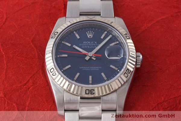 Used luxury watch Rolex Datejust steel / white gold automatic Kal. 3135 Ref. 116264  | 161232 15