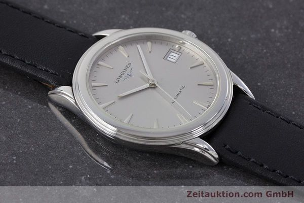Used luxury watch Longines Flagship steel automatic Kal. L619.2 Ref. L4.717  | 161234 12