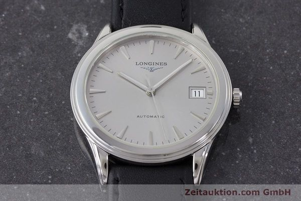 Used luxury watch Longines Flagship steel automatic Kal. L619.2 Ref. L4.717  | 161234 13