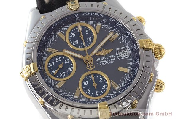 Used luxury watch Breitling Chronomat chronograph steel automatic Kal. B2 ETA 7750 Ref. B13050.1  | 161235 02